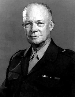 portrait d'Eisenhower  article: la Matrice d'Eisenhower https://par-le-temps-qui-court.fr Magali Cochez