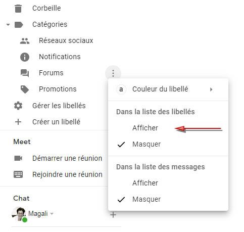 photo 5 article: Gmail et catégories https://par-le-temps-qui-court.fr Magali Cochez
