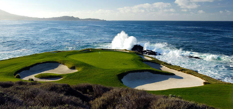 Best Par 3 Holes in the World - Pebble Beach Hole 7