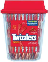 Golf Gift Bag Ideas - Twizzlers