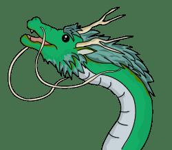 龍のイラスト(PNG)