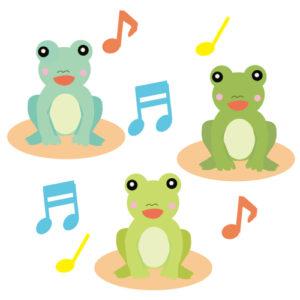 カエルの合唱団(JPEG)