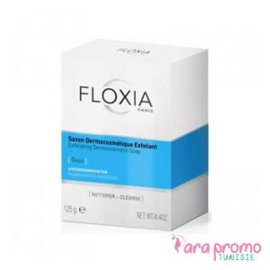 FLOXIA Disco - Savon Dermocosmétique Exfoliant 125 G