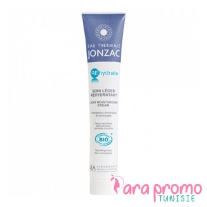 JONZAC Rehydrate Soin léger réhydratant bio tube 50ml