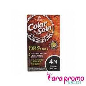 3 CHÊNES COLOR & SOIN COLORATION - 4N CHÂTAIN NATUREL