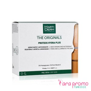 MARTIDERM The originals Proteos hydra plus 10 ampoules - DRY SKIN