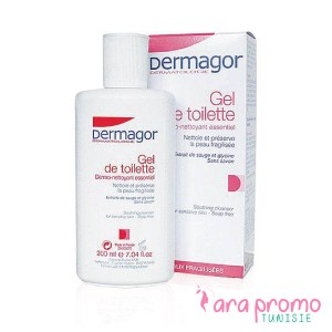 DERMAGOR Gel de toilette Surgras 200 ml