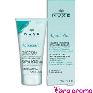 NUXE Aquabella Pack Emulsion Hydratante 50ML + Gelée Purifiante 30ML OFFERTE