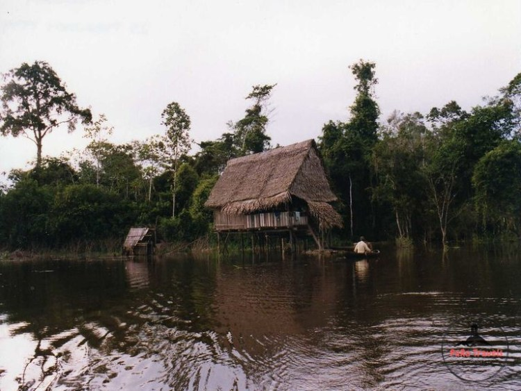Floating house Iquitos