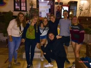 Julie, Maarten, victor, Gijs, Ireen, Maaike and Britt