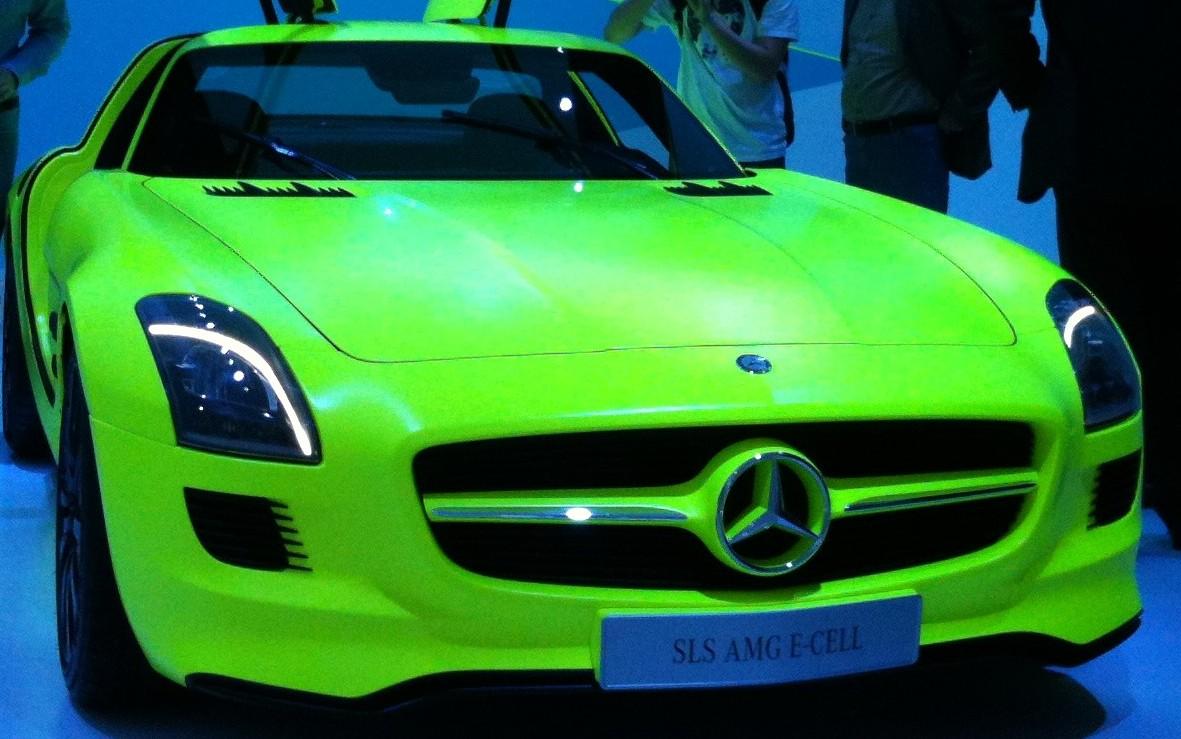 SLS AMG E-CELL von Mercedes