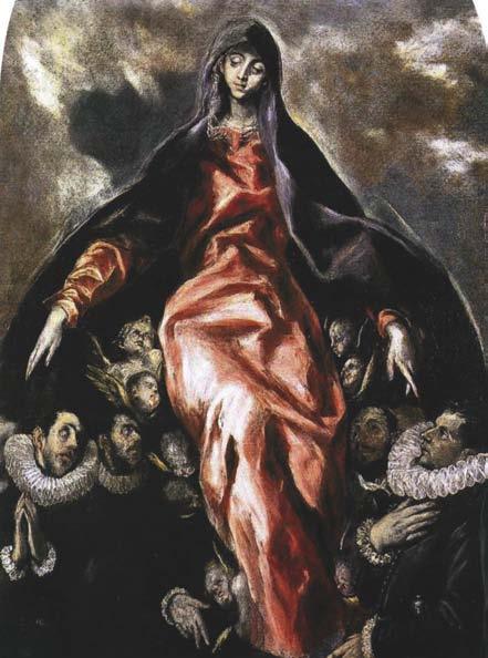 The Madonna of Charity, El Greco, c. 1604