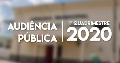 Audiência Pública do 1º quadrimestre de 2020: Saiba como assistir