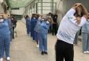 Projeto 'Cuidando de quem cuida' leva ginástica laboral às equipes de saúde