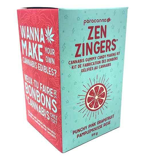 Grapefruit Cannabis Gummy Candy Making Kit
