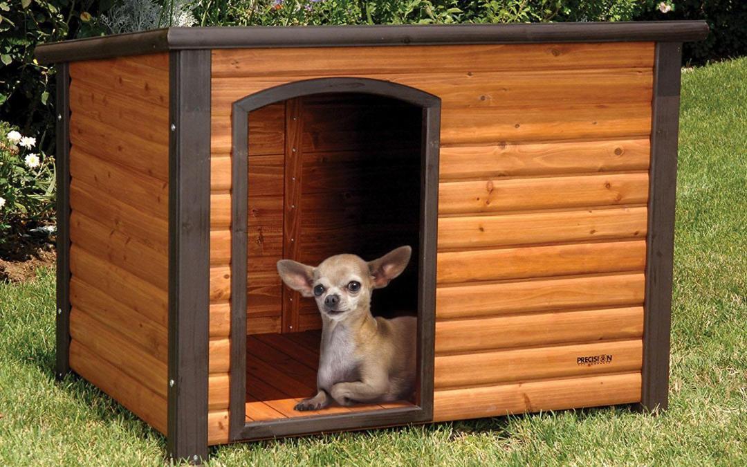 Precision Pet Extreme Log Cabin La MEJOR casa para chihuahuas del 2018