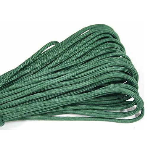 Žalios spalvos paracord virvė