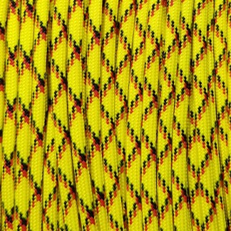 Yellow Explosive Paracord