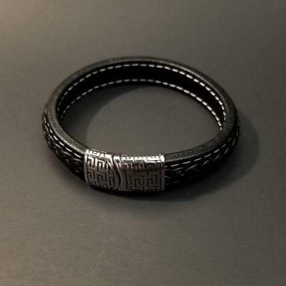 Geometric Leathers Bracelet
