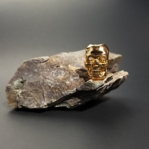 Gold Skull Small
