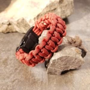 Mil Spec Survival Red Bracelet