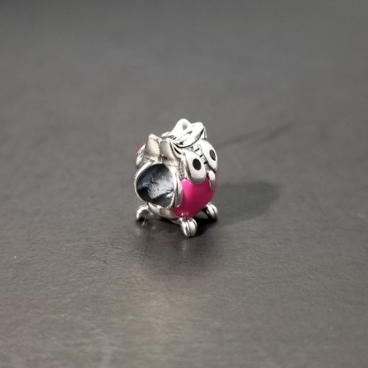 Pink Silver Owl