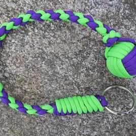 Neon Green and Acid Purple