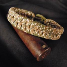 Camo Paracord Fishtail Bracelet