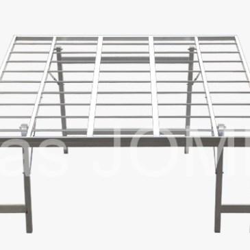 Mesa de aluminio inclinada para fruta y verdura MOD-7