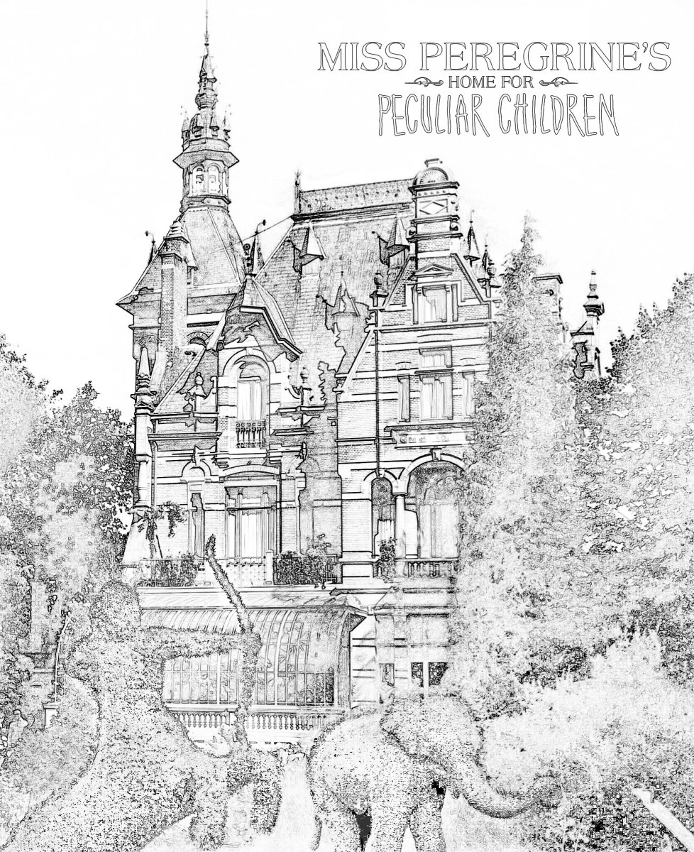 Free Download Coloring Pages Inspired By Miss Peregrines