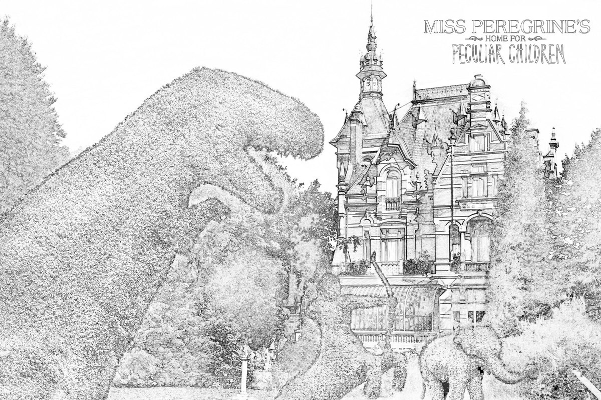 Free Download Coloring Pages Inspired By Miss Peregrine