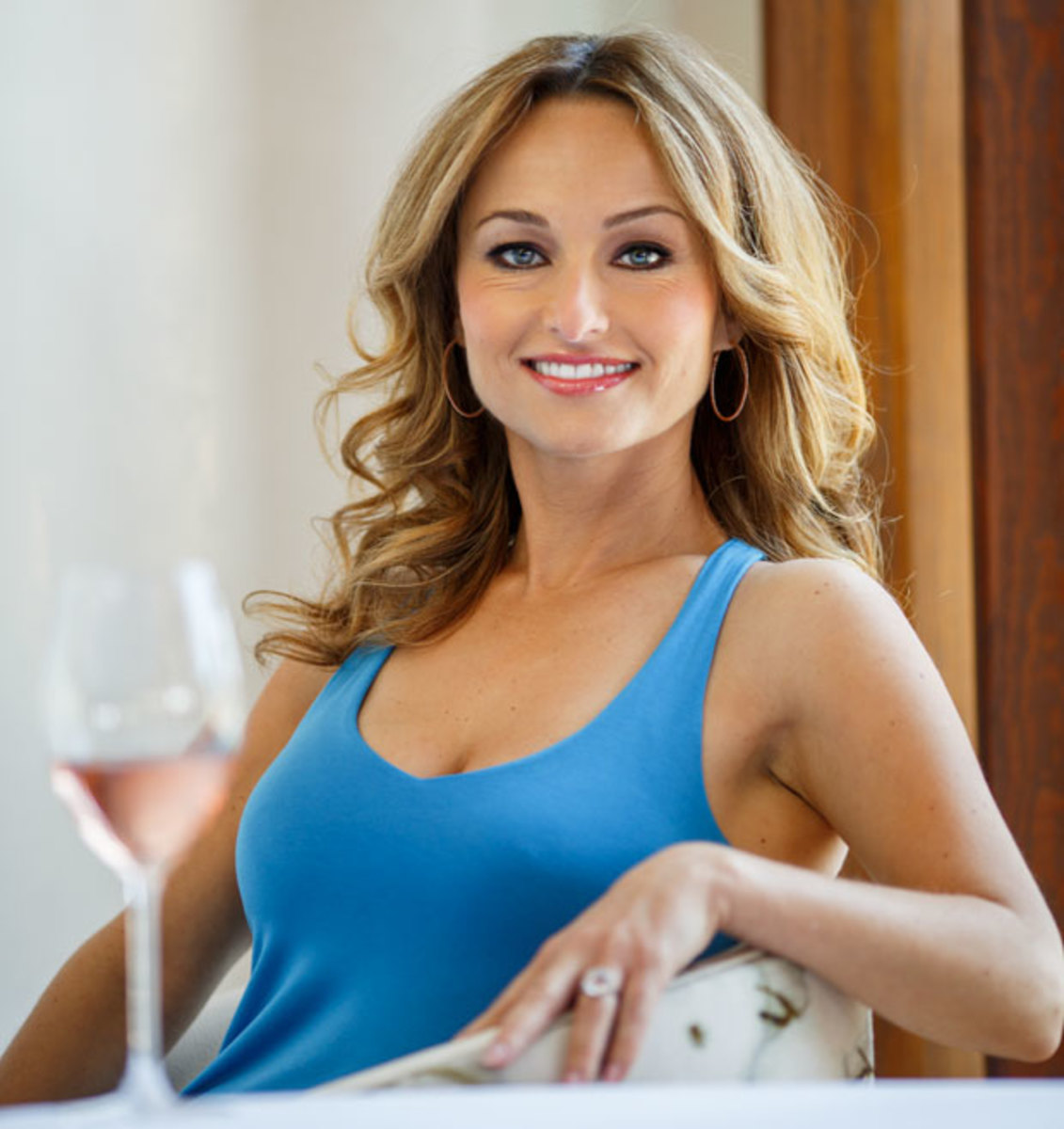 Giada de laurentiis too sexy on food channel