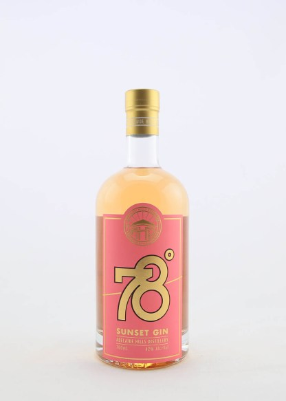 78 DEGREES SUNSET GIN 700ML