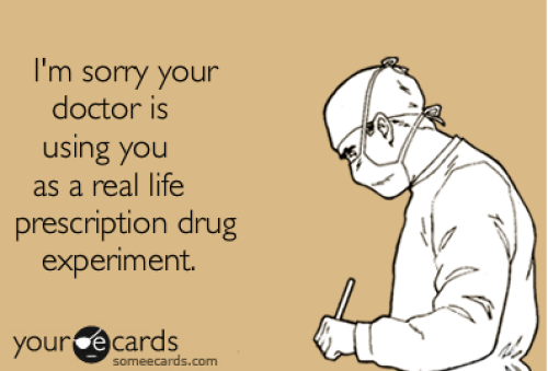 doctor using you