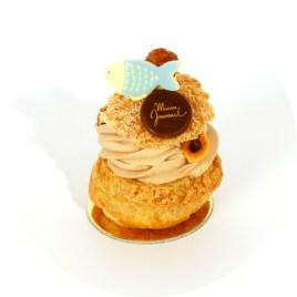 Paris-Brest (demi-gâteau)