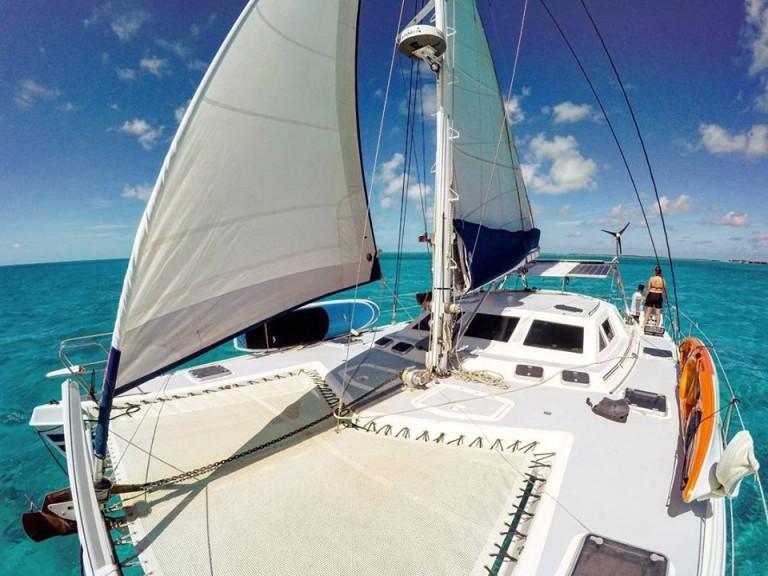 croisiere en catamaran sur un 42 pieds sur exuma