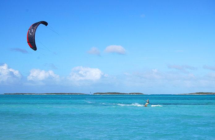 kitesurf school in exuma paradise bay bahamas