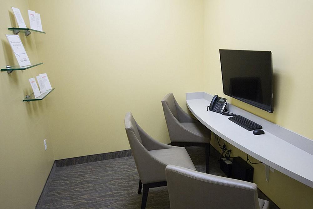 paperwork room