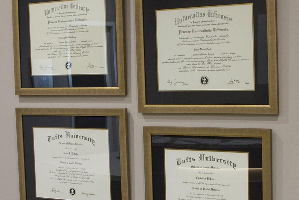 tufts diplomas