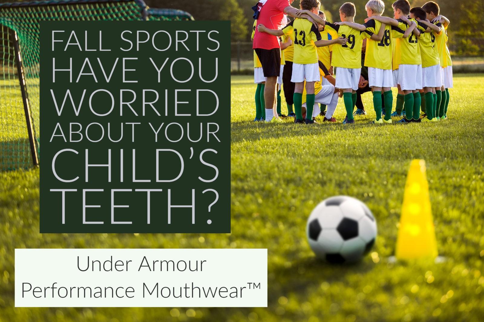 Under Armor Performance Mouthwear™ at Paradise Dental!