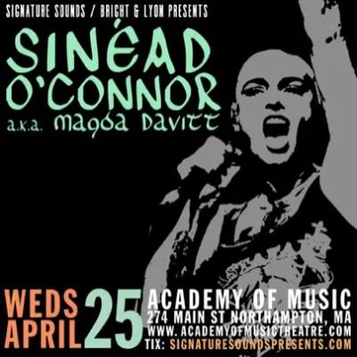 Sinéad O'Connor aka Magda Davitt