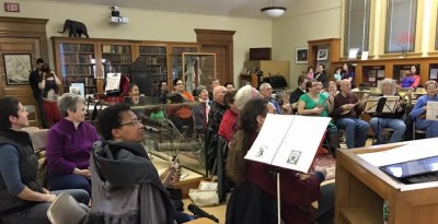 Holiday Sing-Along at Forbes Library