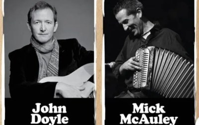 John Doyle & Mick McAuley at the Iron Horse