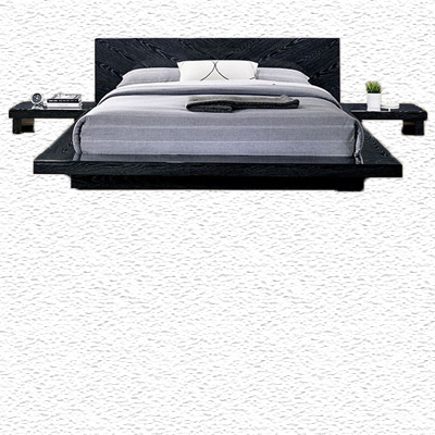 Christie Low Profile Black Bed Frame Paradise Furniture Store