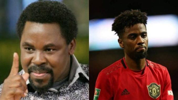 Manchester United Player Visits Prophet TB Joshua For Healing, Deliverance  (VIDEO) | Paradise News