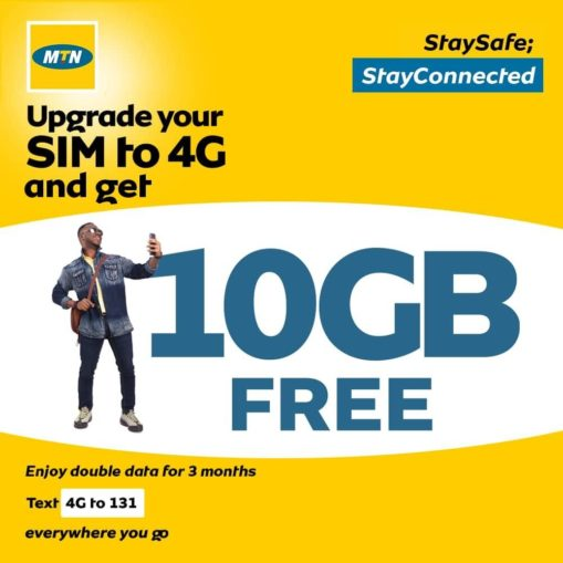 How to get FREE 10GB data from MTN network 1
