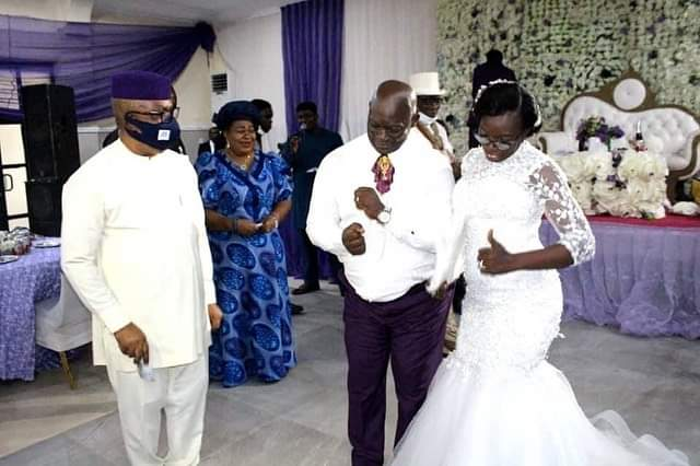 Photos from C'River Acting Chief Judge's wedding, as he remarries 4
