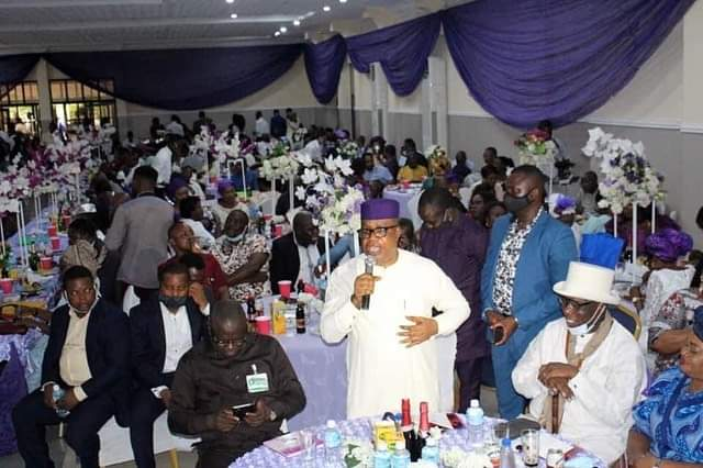 Photos from C'River Acting Chief Judge's wedding, as he remarries 5