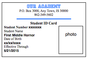 University life finally blogging for University id card template