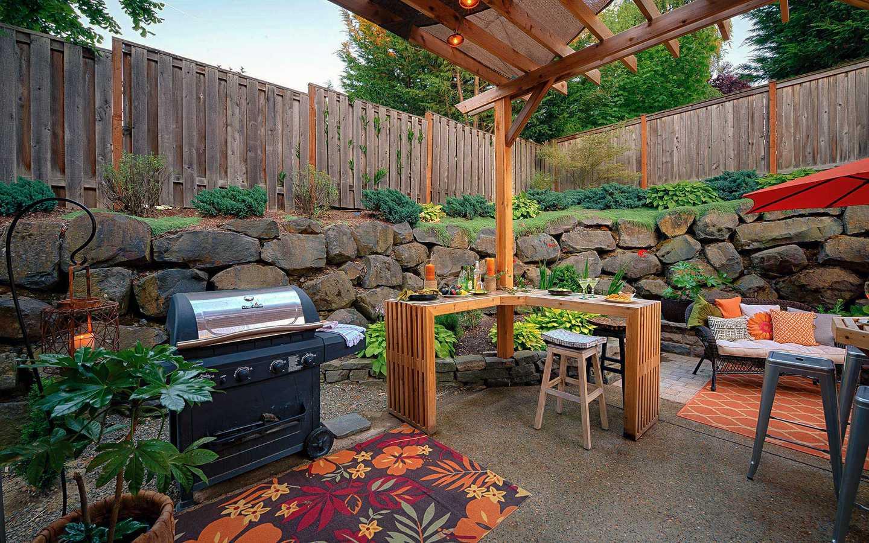 outdoor kitchen bar paradise restored